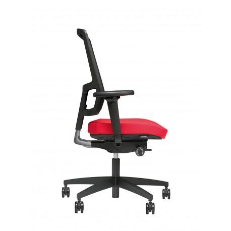 Beta Berlijn 2513-01ZW ergonomische bureaustoel