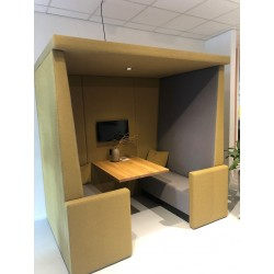 Stilte werkplek CUBE Bonn 4 personen
